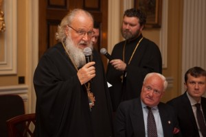 HH Patriarch Kirill Addressing Guests