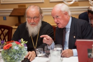HH Patriarch Kirill and Michael Wynne-Parker